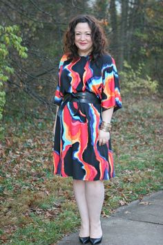Gwynnie Bee sent me their Pinterest board of new arrivals and as soon as I saw this dress I had to put it in my virtual closet! Monday: Taste the Rainbow