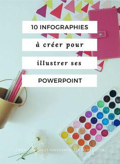 20 Infographies à créer pour illustrer ses PowerPoint et comment les créer soi-même. #powerpoint #microsoft #presentation #infographie