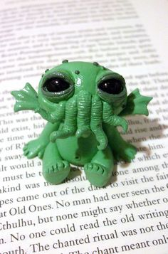 Spawn of Cthulhu. by Crazy-Clayz, via Flickr