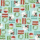 Ho Ho Ho by Benartex fat quarter christmas by BlackTulipQuilts2, $4.50