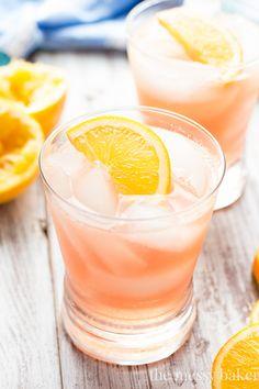 Cranberry Orange Crush Cocktail | www.themessybakerblog.com