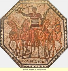 Black Roman Mosaic-before the Polo