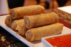 Spring Rolls from Classic Chinese New Year's Food Traditions for a Lucky Start (Slideshow)