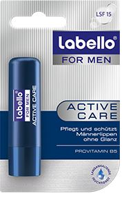 Cares for men lips colorless and odorless, but with hops extracts. Fits in your pocket or jacket pocket Made in Germany