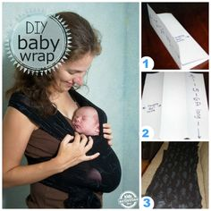 How to Make a {No-Sew} Baby Wrap - Kids Activities Blog
