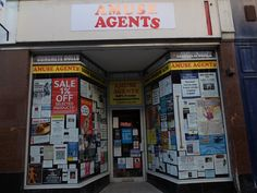 'Amuse Agents' joins Whitefriargate for the UK City of Culture's first season #MadeInHull. Go and have a look at the very amusing adverts on the windows!