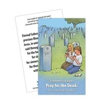 Pray for the Dead Prayer Card