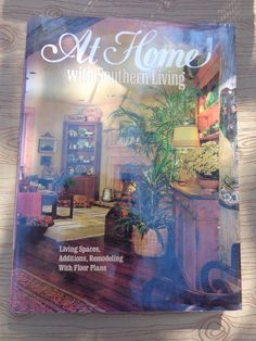 Book At Home with Southern Living 1994 Hardback Home Decor Remodel Additions Vintage - pinned by pin4etsy.com