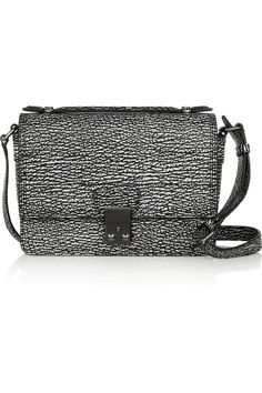 3.1 Phillip Lim | The Pashli Mini Messenger textured-leather shoulder bag | NET-A-PORTER.COM