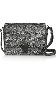 3.1 Phillip Lim|The Pashli Mini Messenger textured-leather shoulder bag|NET-A-PORTER.COM