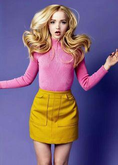 """Barbie"" Dove Cameron. Beautiful potograph. I like it. Sal P."