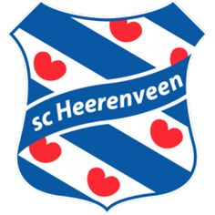 SC Heerenveen - Soccer Sports Embroidery Logo in 4 sizes - Football Team Logos, Soccer Logo, Soccer Teams, Sports Logos, Football Soccer, Soccer Kits, Professional Football, European Football, Nhl