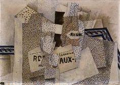 Bottle of Rum - Georges Braque
