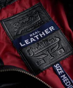 Superdry Brad Hero Leather Jacket