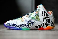 "Nike LeBron 11 ""What the LeBron"" Another Look http://nicek.is/UeKhyT"