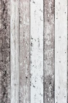 Steigerhout Vliesbehang Bruin/Creme bij Behangwebshop