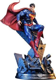 New 52 Superman Polystone Statue