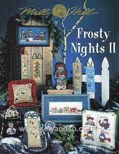 Buy Frosty Nights II Chart Booklet online at sewandso.co.uk