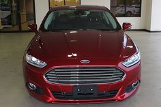 2016 ford fusion deep impact blue