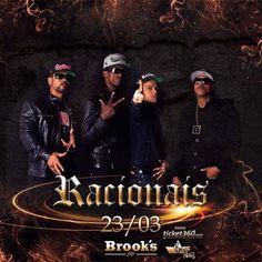 Show do Racionais Mcs na Brooks SP Informações no Link: http://www.baladassp.com.br/balada-sp-evento/Brooks-SP/928 WhatsApp: 11 95167-4133