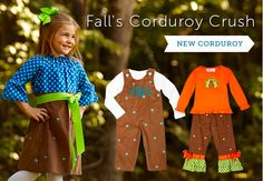 Lovin' LWD's corduroy sets right now