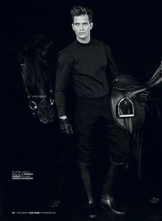 www.pegasebuzz.com | The fashion horse : Michael Gstoettner by Juan Martin for ELLE Man Vietnam, december 2013