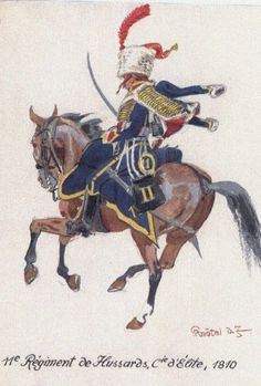 Les cavaliers de la Grande Armée :: Iconographie réservée au 11 ème hussards