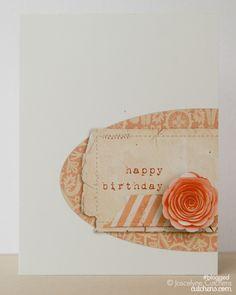 Hybrid Happy Birthday Card by Joscelyne Cutchens