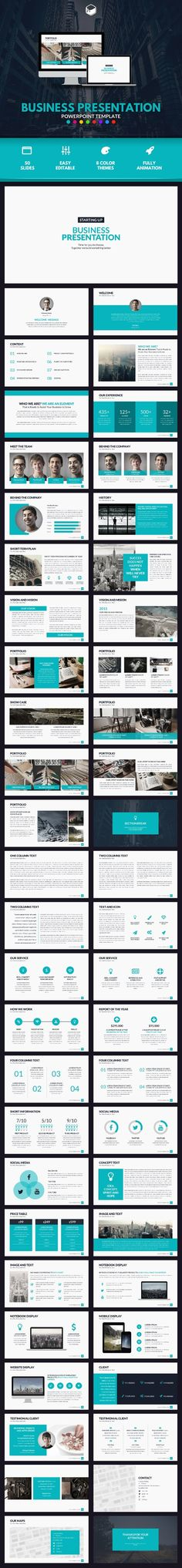 Best Presentation Design Inspiration Images  Page Layout Ppt  Buy Business Presentation  Powerpoint Template By Descarteshouston On  Graphicriver A Clean And Excellent Powerpoint Template For Your Business