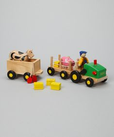 Look what I found on #zulily! Farm Toy Set by Discoveroo #zulilyfinds