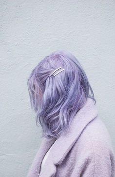 Pastel Lavender Hair, Pastel Blue Hair, Short Pastel Hair, Pastel Hair Colors, Short Lavender Hair, Violet Hair, Cool Hair Colours, Silver Lavender Hair, Light Purple Hair