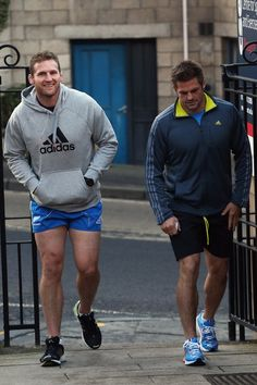 Kieran Read and Richie McCaw of the All Blacks