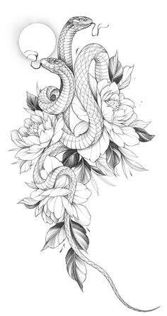 Dope Tattoos, Body Art Tattoos, Small Tattoos, Sleeve Tattoos, Tattoos For Guys, Tattoo Design Drawings, Tattoo Sketches, Tattoo Designs, Cobra Tattoo