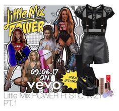 """Little Mix POWER Ft STORMZY PT.1"" by laurenbeth15 ❤ liked on Polyvore featuring sass & bide, Topshop, Trafalgar, MANGO, Jeffree Star, Laura Mercier and The Gypsy Shrine"
