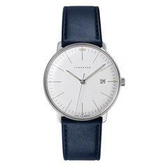 Junghans Max Bill Herren-Quarzuhr http://www.uhrcenter.de/uhren/junghans/maxbill/junghans-max-bill-herren-quarzuhr-041-4464-00/ Uhren Shop, Cool Watches, Watches For Men, Junghans, Max Bill, Patek Philippe, Watch Brands, Luxury Watches, Armband