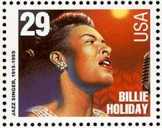 Billie Holiday stamp. 1994