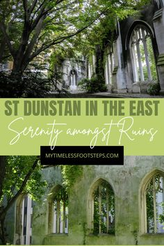 St Dunstan in the East-8 reasons why you should visit this Serenity amongst Ruins | My Timeless Footsteps