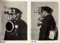 Futuristic Prototype of the First Soviet Night Vision Goggles, ca. 1940s