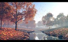 C4D - Natural environments