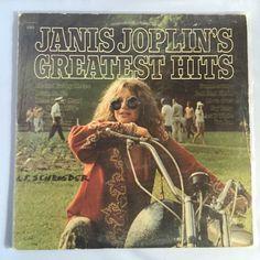 Janis Joplin's Greatest Hits // Vintage Vinyl Record Album LP / Collectible Audio