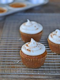 Gluten-Free Carrot Cake Cupcakes - 10 Insatiable Gluten-Free Desserts