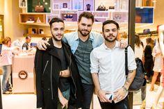 Forum Fashion Tour! Gatos de Forum no evento: Lucas Malta, Daniel Mooney e Leonardo Azevedo