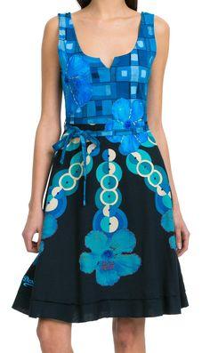 Desigual Elian Dress Blue Dresses, Day Dresses, Casual Dresses, Stylish,  Fabricant, 11cbd8e48e65