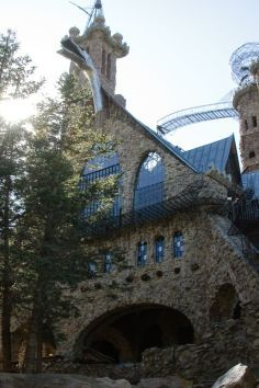 Bishop Castle is a Tourist Attraction in Rye. Plan your road trip to Bishop Castle in CO with Roadtrippers. Bishops Castle Colorado, Great Places, Places To See, Amazing Places, Beautiful Places, Bishop Castle, Fairytale Castle, Roadside Attractions, Beautiful Castles