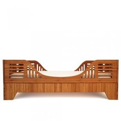 These bamboo beds by Kalon are gorgeous. What every eco-designer baby should have.