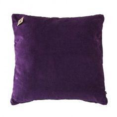Samettinen tyynynpäällinen 50x50 cm, violetti