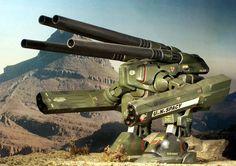 "1:160 Macross - Destroid ""Monster"" HWR-00-Mk. II | Flickr - Photo Sharing!"