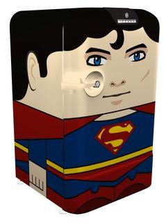 Mini Icebox Superman • Designed by Cia Vintage