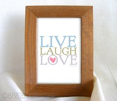 Shop for on Etsy, the place to express your creativity through the buying and selling of handmade and vintage goods. Live Laugh Love, Nursery Art, Printable Wall Art, Printables, Memories, Frame, Creative, Baby, Handmade
