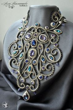 Some day I will make a necklace like this!